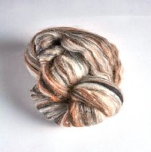50g Pack of Humbug Llama Merino Wool, Silk and Alpaca Wool Mix